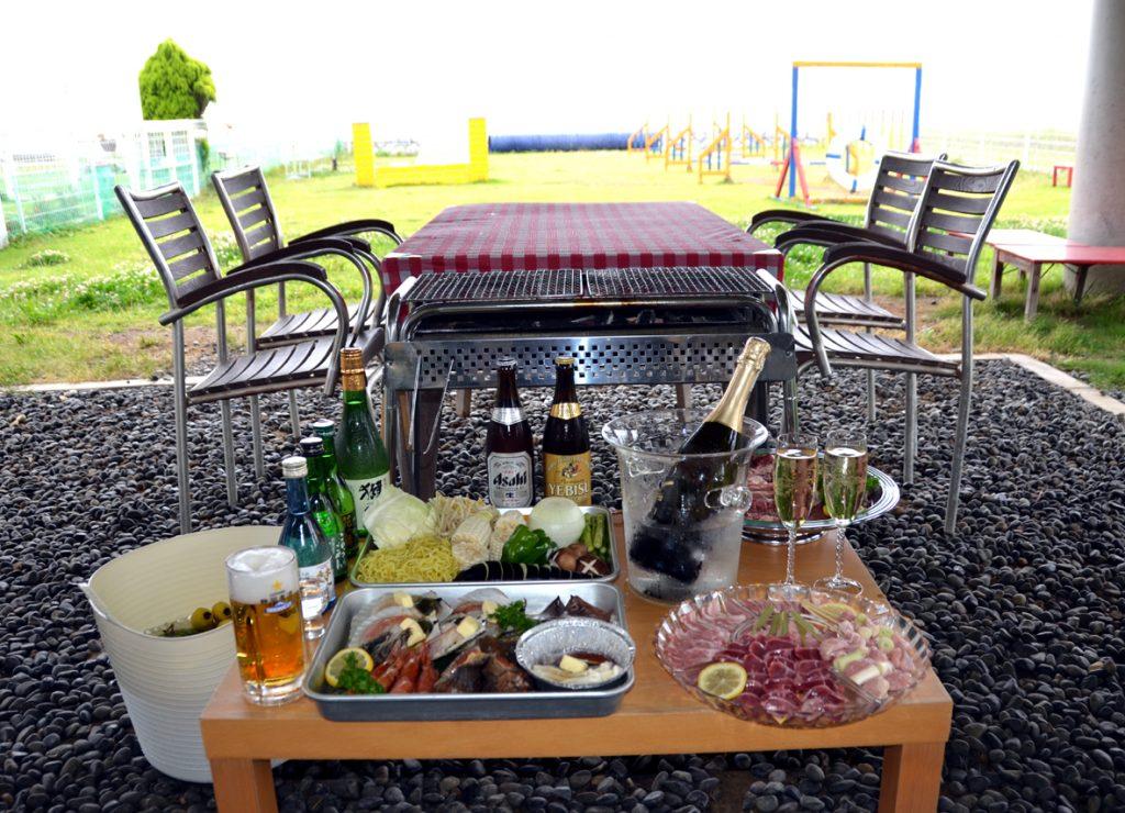 厳選牛豚&海鮮&野菜BBQプラン